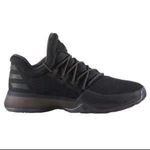 Adidas Harden Vol 1 black basketball sneakers